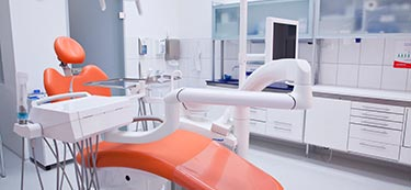 Dental clinic treatment room