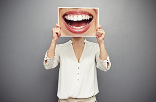 New set of teeth